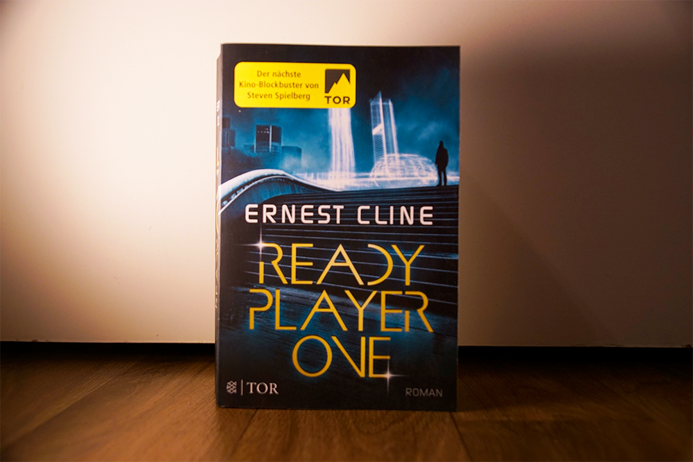 Buchcover von Ready Player One, Foto: Kia Kahawa