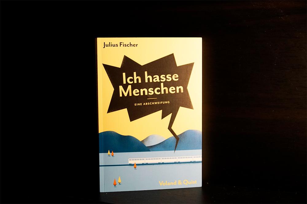 Buchcover von Ich hasse Menschen, Foto Kia Kahawa