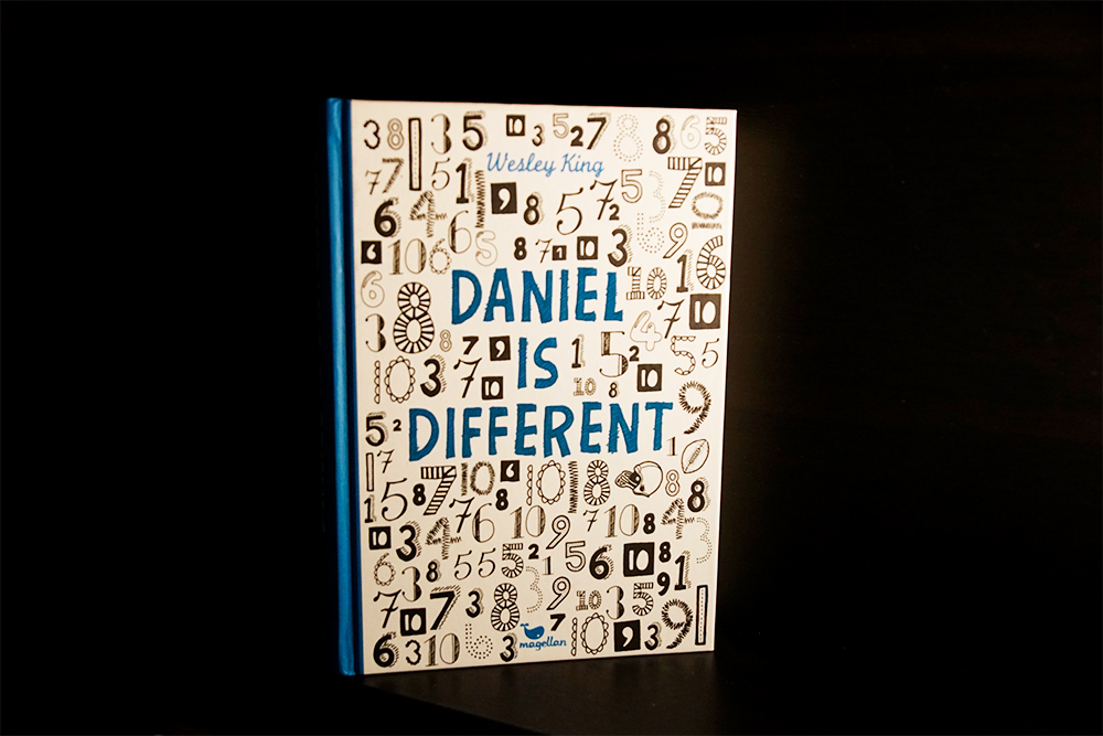 Buchcover zu Daniel is different, Foto: Kia Kahawa