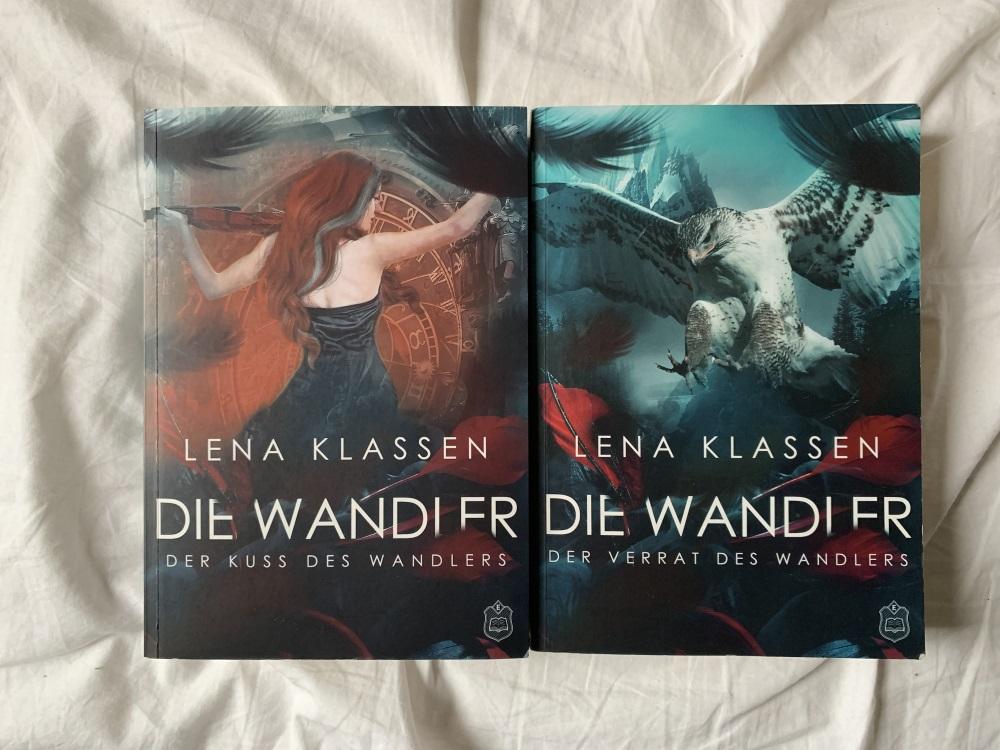 Buch 1 und 2 der Wandler-Reihe, Foto: S. M. Gruber