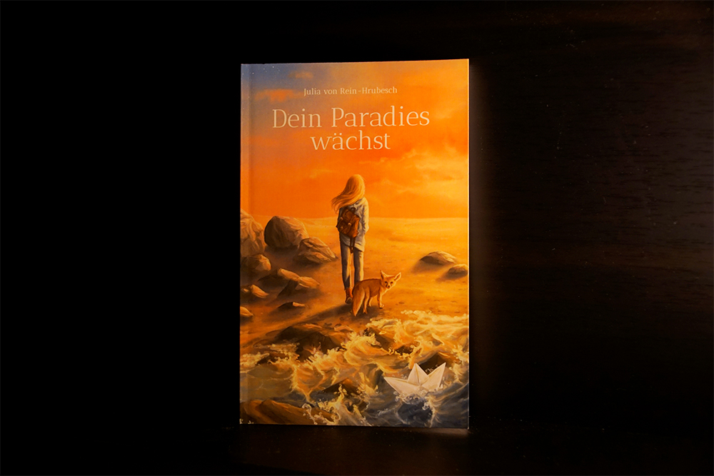 Buchcover von Dein Paradies wächst, Foto: Kia Kahawa