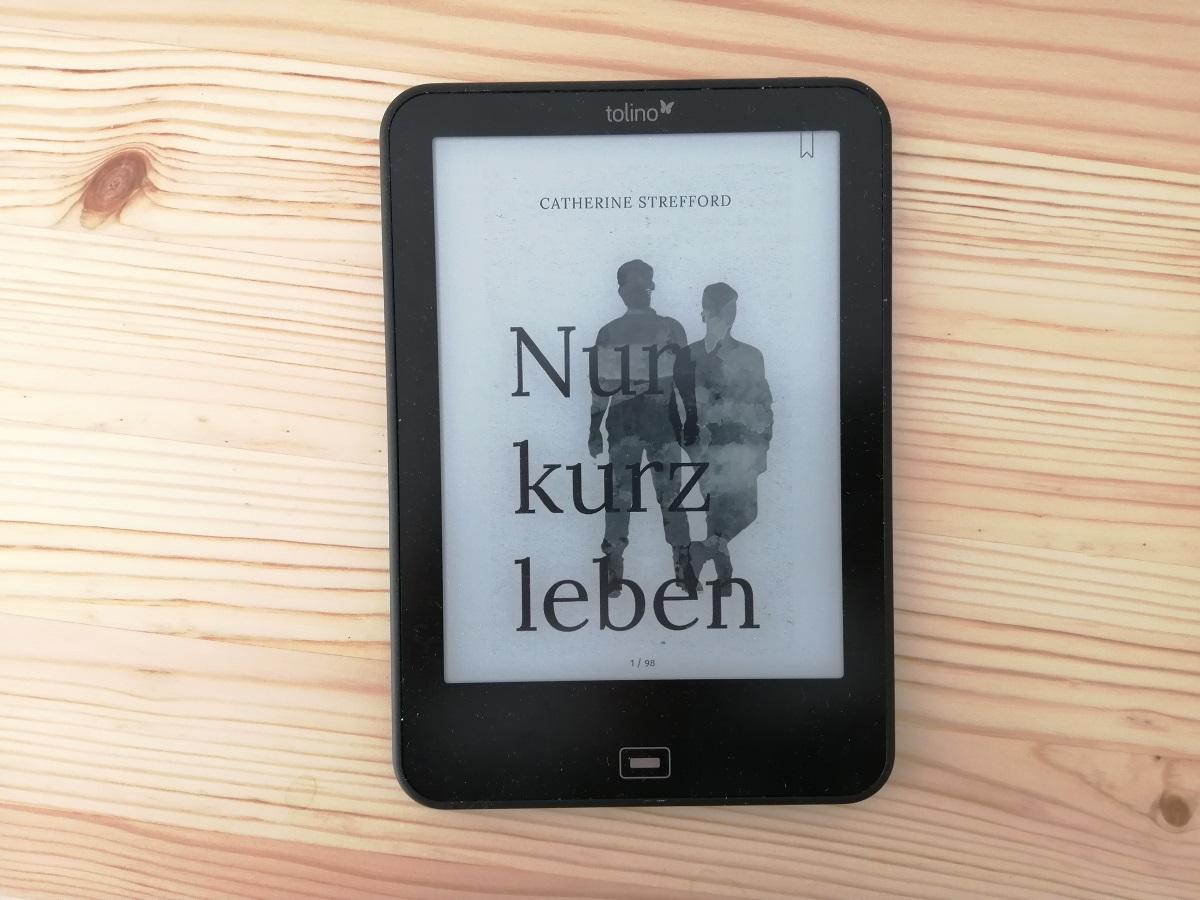 """Nur kurz leben"" Buchcover E-Book, Foto: Magret Kindermann"