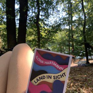 Land in Sicht Buchcover, Foto: S. M. Gruber